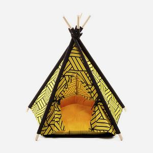 "H&B Tepee Tent ""Mustard"""