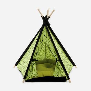 "H&B Tepee Tent ""Green"""