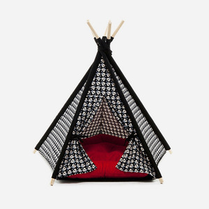 "H&B Tepee Tent ""Geometry Black"""
