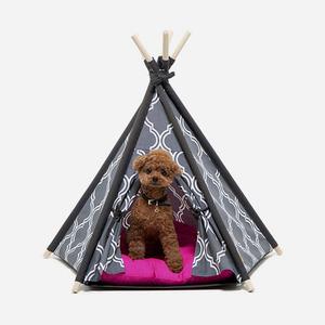 "H&B Tepee Tent ""grey"""