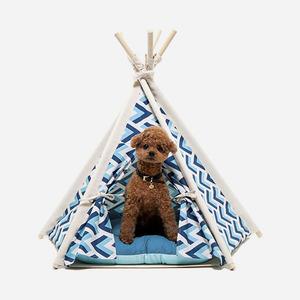 "H&B Tepee Tent ""sweet blue"""